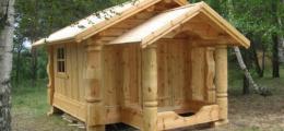 Деревянные коттеджи и методы сохранить деньги на постройке